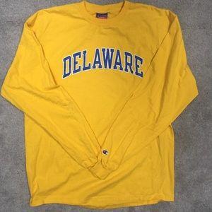 Yellow vintage champion Sweatshirt